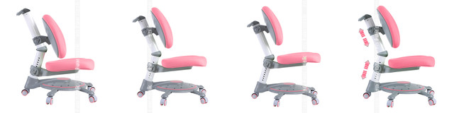 регулировки кресла fundesk sst1 pink