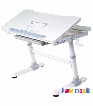 fundesk carezza grey