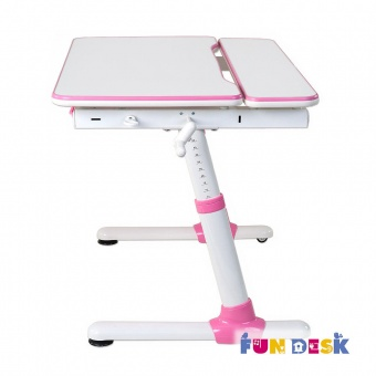 fundesk carezza pink вид сбоку