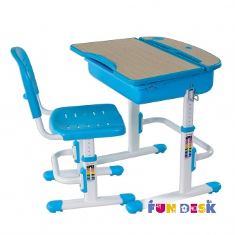 fundesk capri blue
