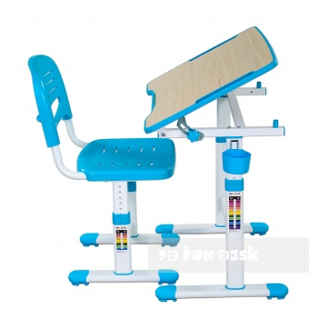 Детская парта Fun Desk Piccolino II Blue